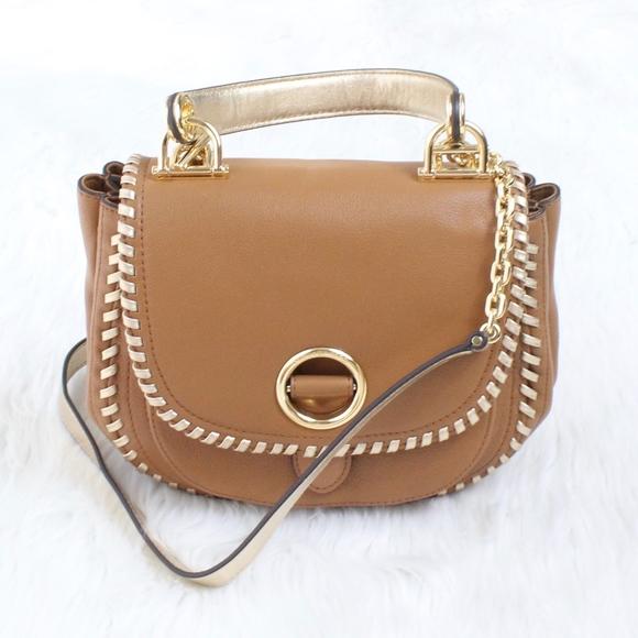 9d8198c9a00f MICHAEL KORS Medium Isadore Crossbody Bag in Brown.  M_5b22bd2afe5151f10eed575c
